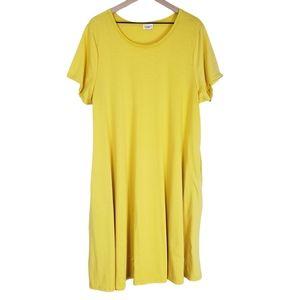 LulaRoe Women's Emily Jersey Dress w Pockets 3XL